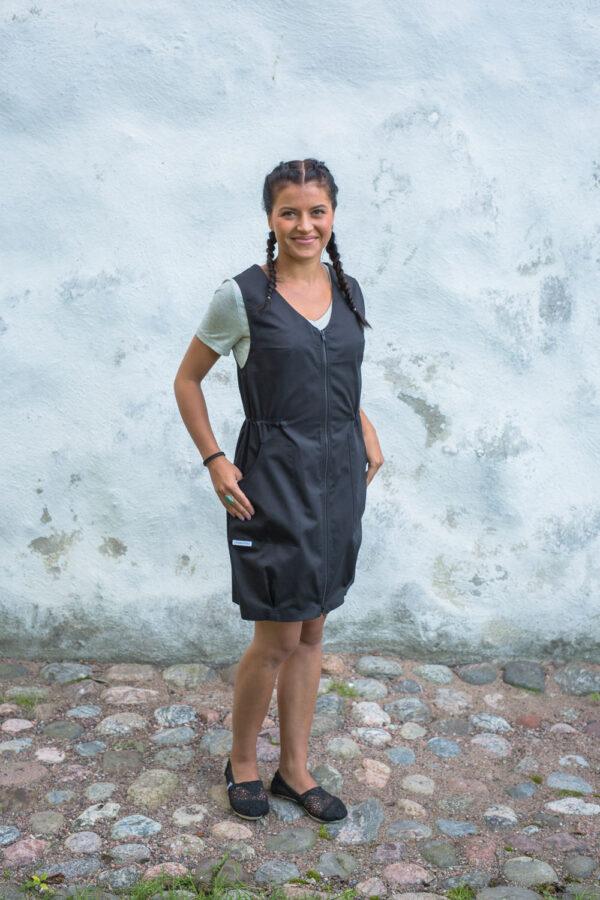 Naisten työvaate - v-aukkoinen mekko työasu - Univormu
