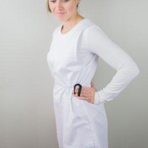 Suomalainen työvaate mekko palvelualalle